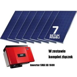 System fotowoltaiczny on-grid 1.75kW