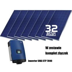 System fotowoltaiczny on-grid 8kW